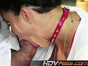 HDVPass vet mummy Romi Rain gets horny