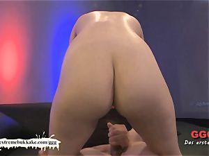Susan white the short haired cum cockslut - extraordinary bukkake