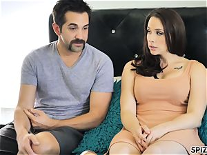 Spizoo - observe Chanel Preston fellating and plumbing