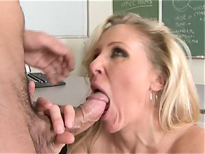 Julia Ann is a gonzo cougar who wants to put her muff on a hard prick
