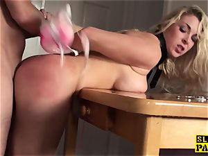 chesty brit victim predominated and made to drizzle
