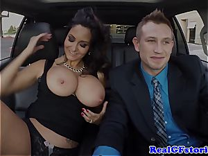 Getting deep throated by Ava