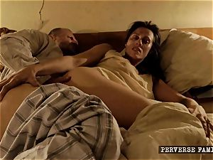 pervy step-sister attempting rectal with her brother