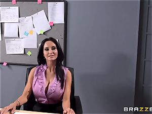busty instructor Ava Addams is plumbed by her schoolgirl