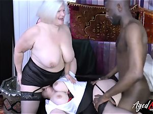 AgedLovE Lacey Starr interracial 3 way
