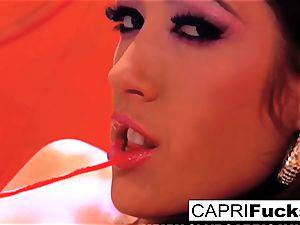 Capri Cavanni eventually screws London Keyes