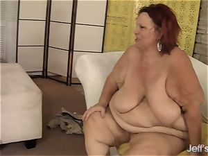 super-naughty plumper hump with four bbw babes