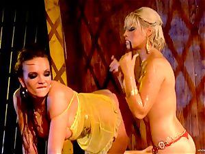 hot Bridgette B torments her fucking partners raw hole